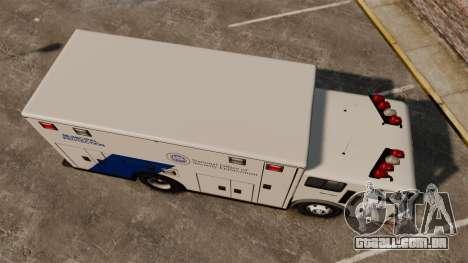 Hazmat Truck NOOSE [ELS] para GTA 4 vista direita