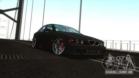 BMW M5 E39 para GTA San Andreas esquerda vista