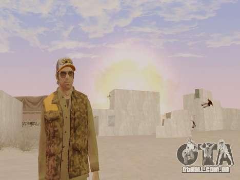 Trevor Phillips para GTA San Andreas oitavo tela