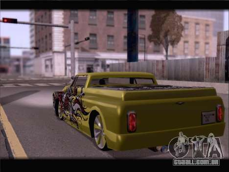 New Slamvan para GTA San Andreas esquerda vista