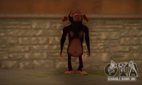 Chimpanzé para GTA San Andreas
