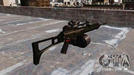 Fuzil de assalto HK MG36 para GTA 4 segundo screenshot