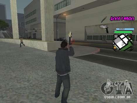 HUD para GTA San Andreas oitavo tela