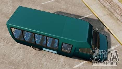 GTA V Brute Tour Bus para GTA 4 vista direita