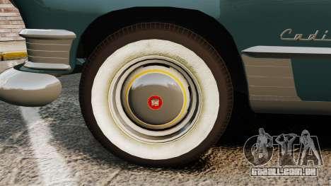 Cadillac Series 62 1949 para GTA 4 vista de volta