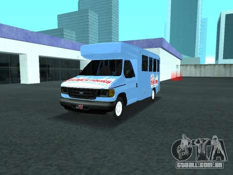 Ford Shuttle Bus para GTA San Andreas