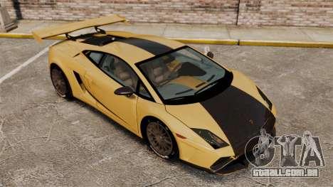 Lamborghini Gallardo 2013 v2.0 para GTA 4 vista superior