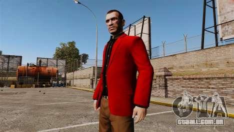 Jaqueta vermelha para GTA 4 segundo screenshot