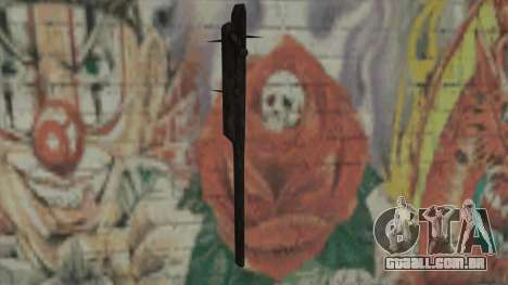 Ficar com as unhas de Fallout New Vegas para GTA San Andreas segunda tela