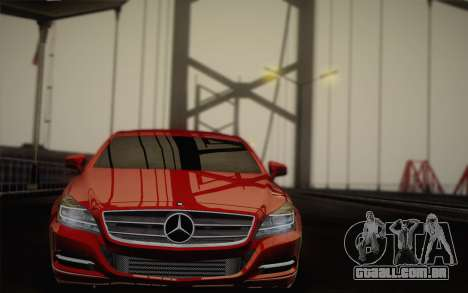Mercedes-Benz CLS 63 AMG 2012 Fixed para GTA San Andreas interior