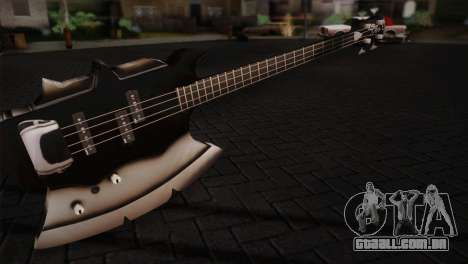 Guitarra, beijo para GTA San Andreas