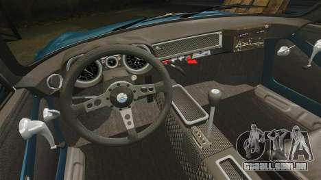 Renault Alpine A110 1600 S para GTA 4 vista superior