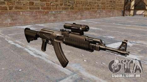 Engrenagem tática AK-47 para GTA 4