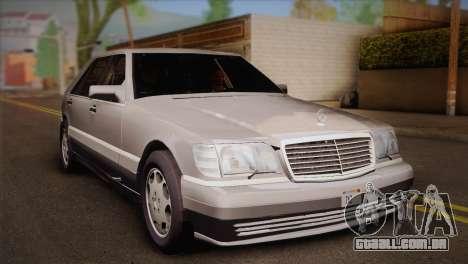 Mercedes-Benz S600 V12 Custom para GTA San Andreas