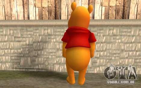 Winnie The Pooh para GTA San Andreas segunda tela