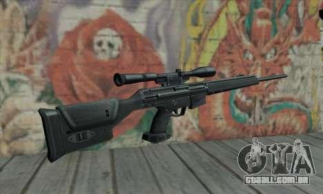 PSG-1 para GTA San Andreas segunda tela