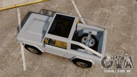 Ford Bronco Concept 2004 para GTA 4 vista direita