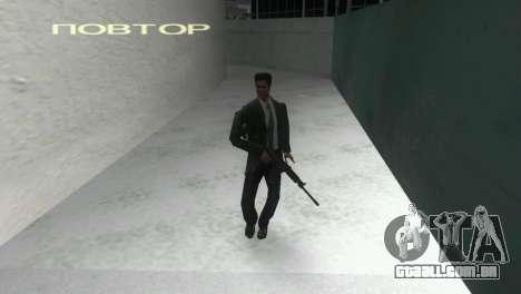 Canhão espingarda Saiga 12 k para GTA Vice City terceira tela