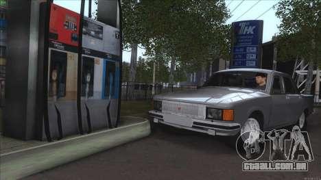GAZ Volga de 3102 para GTA San Andreas vista inferior