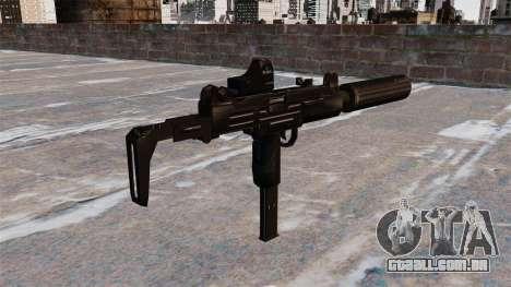 Pistola-metralhadora UZI Tactical para GTA 4 segundo screenshot
