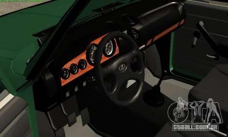 VAZ 2106 para GTA San Andreas vista traseira