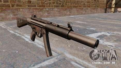 Pistola-metralhadora HK MP5A5 para GTA 4