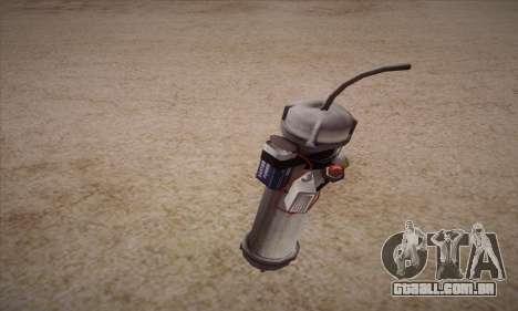 Romã de Left 4 Dead 2 para GTA San Andreas
