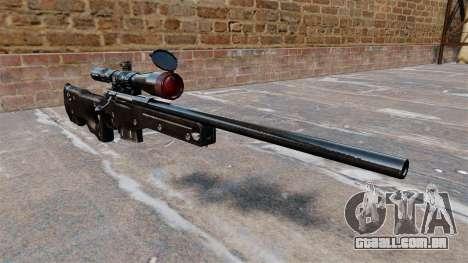 Rifle de sniper AI Arctic Warfare Magnum para GTA 4