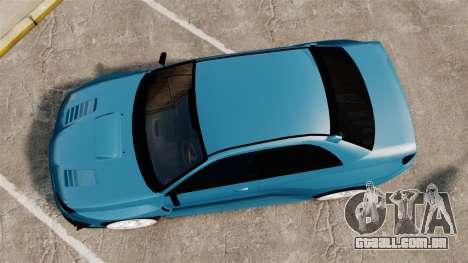 Subaru Impreza HD Arif Turkyilmaz para GTA 4 vista direita
