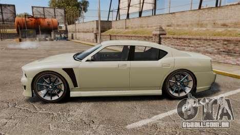GTA V Bravado Buffalo STD8 v2.0 para GTA 4 esquerda vista