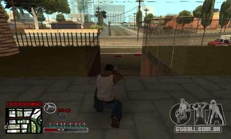 C-HUD Getto Jonka para GTA San Andreas segunda tela