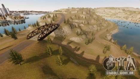 Cliffside localização Rally para GTA 4 décimo tela