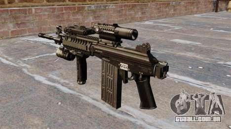 Espingarda automática Galil tático para GTA 4 segundo screenshot