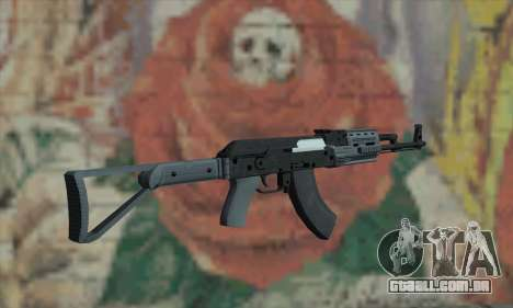 O AK47 de GTA V para GTA San Andreas segunda tela