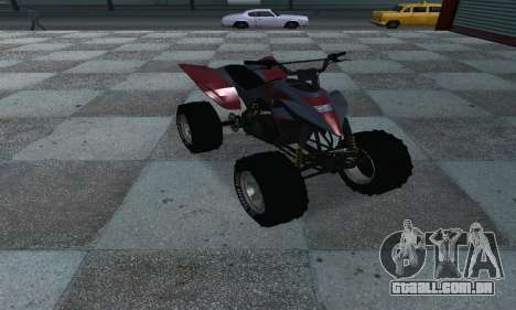 GTA 5 Blazer ATV para GTA San Andreas vista direita