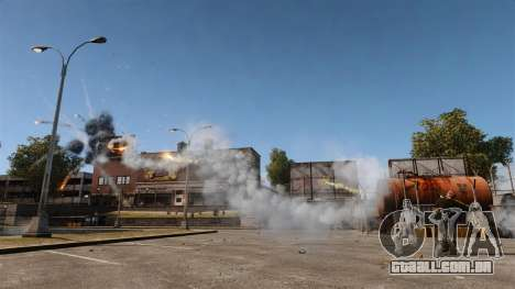 Lançador rápido-fogo para GTA 4