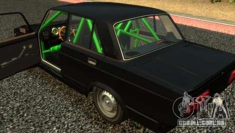 VAZ 2105 para GTA 4 vista de volta