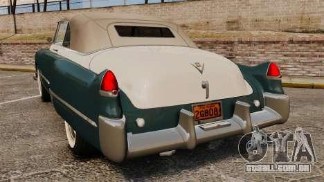 Cadillac Series 62 1949 para GTA 4 traseira esquerda vista