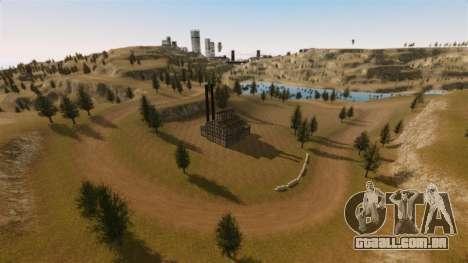 Cliffside localização Rally para GTA 4 segundo screenshot
