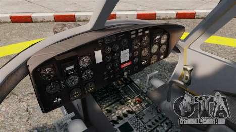 Bell UH-1 Iroquois v2.0 Gunship [EPM] para GTA 4 vista de volta