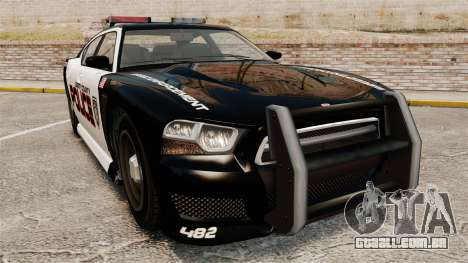 GTA V Bravado Buffalo Supercharged LCPD para GTA 4