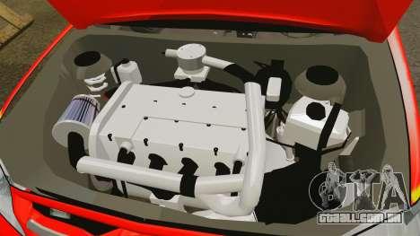 Toyota Hilux London Fire Brigade [ELS] para GTA 4 vista interior