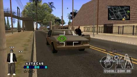C-HUD Aztecaz para GTA San Andreas terceira tela