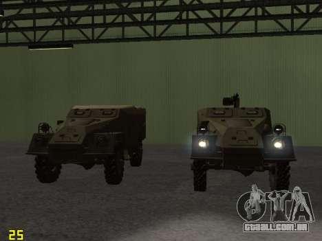 BTR-40 para o motor de GTA San Andreas