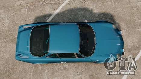 Renault Alpine A110 1600 S para GTA 4 vista direita