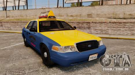 Ford Crown Victoria 1999 GTA V Taxi para GTA 4