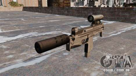 Pistola-metralhadora PM-98 Glauberyt para GTA 4