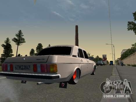 GAZ 3102 postura para GTA San Andreas esquerda vista