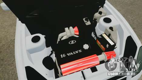 VAZ-2170 Lada Priora Turbo para GTA 4 vista interior