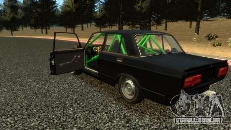 VAZ 2105 para GTA 4 traseira esquerda vista